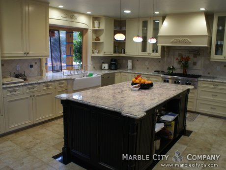 Bianco Romano Granite. Bianco Romano Granite Kitchen Countertops California   Stone