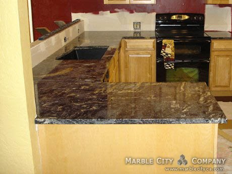 Black Cosmic   Granite Countertops In Bay Area, California