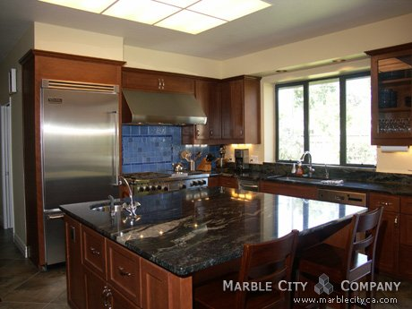 Blue Brazil - Granite Countertops in Bay Area, California