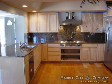 Crema Bordeaux - Granite Countertops - Bay Area