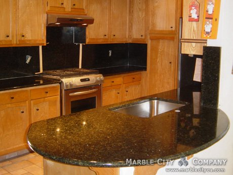 Uba Tuba Granite - Kitchen Countertops - San Jose