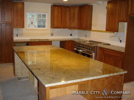 Golden Wave - Granite Countertops - San Jose