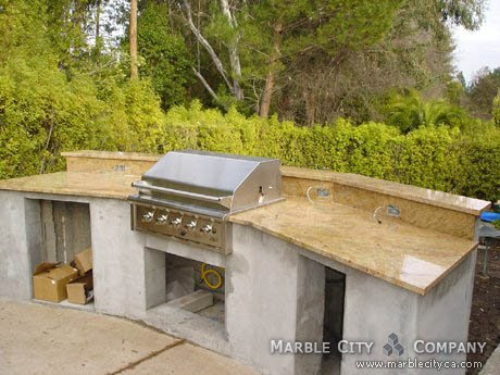 Kashmire Gold - Granite Countertops - Bay Area