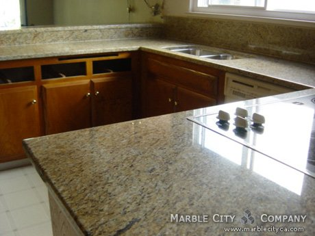 New Venitian Gold - Granite Countertops - Bay Area