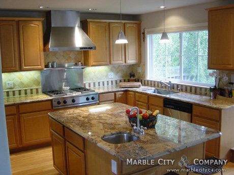 Persa Gold - Granite Countertops - San Jose