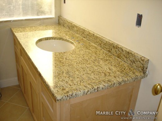 Santa Cecilia Granite Vanity Countertops Custom Made