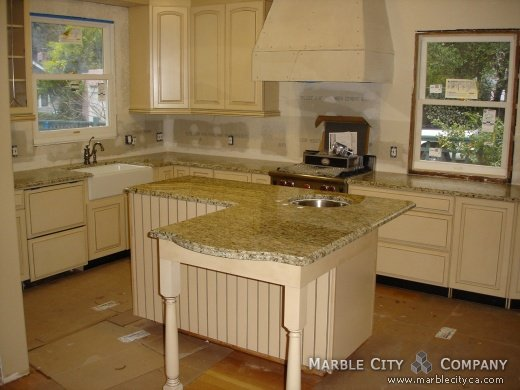 Santa Cecilia Granite Countertops - Bay Area, California