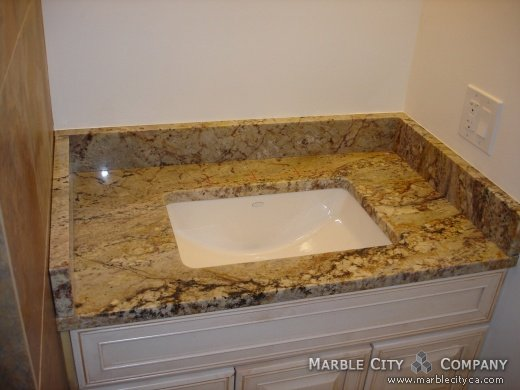 Siena Bordeaux Granite Countertops In California