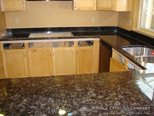 Volga Blue   Granite Countertops   Bay Area