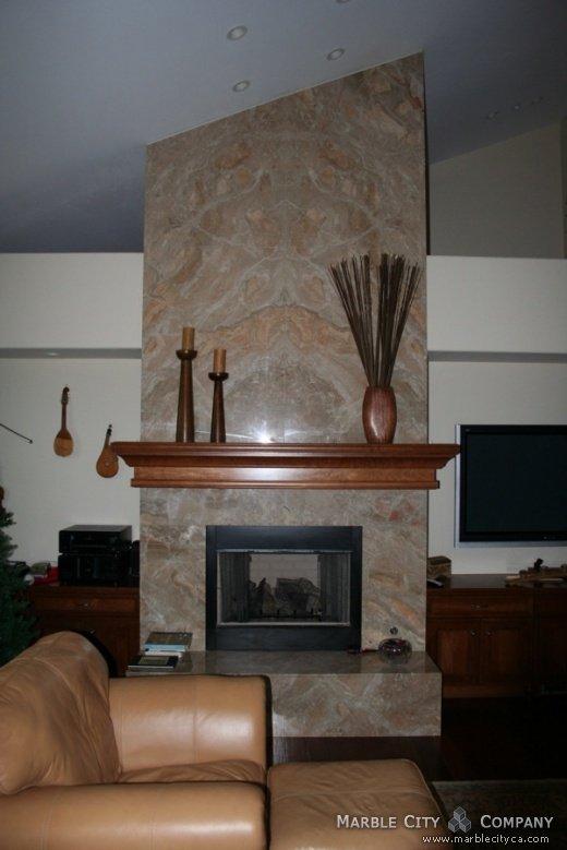 Brecia Oniciata - Marble Countertops in San Jose California