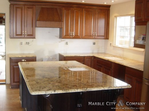 Marble Countertops Product : Absolute cream granite countertops expert installation