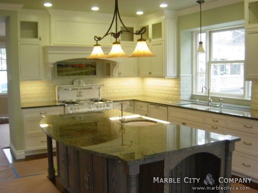 Perfect Emerald Green   Granite Countertops   Bay Area