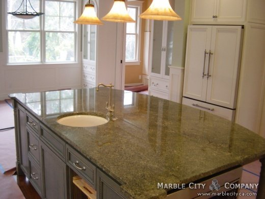 Attirant Emerald Green   Granite Countertops   San Francisco