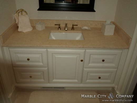 Giallo Atlantide Brashed - Marble Countertops - San Jose