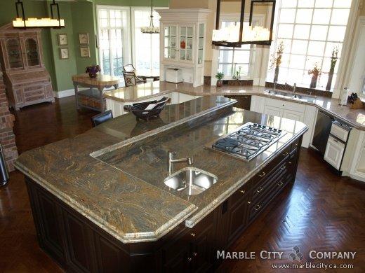 Fantastic Brown - Granite Countertops - Bay Area California