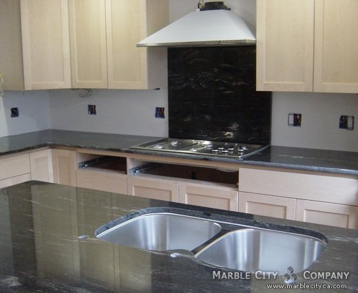 Black Cosmic - Granite Countertops in San Jose, California