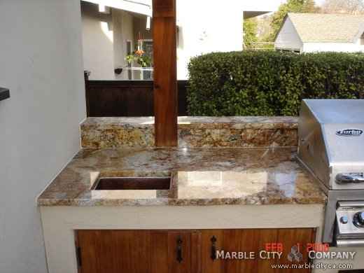 Honey - Granite Countertops - San Francisco, California