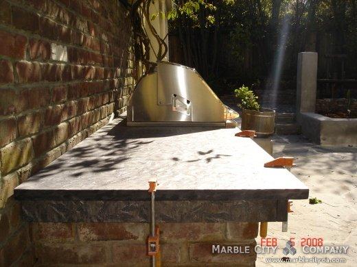 Matrix Brashed - Granite Countetops - San Francisco