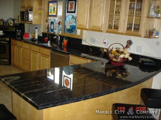 Blue Fantastico - Granite Countertops in Bay Area, California