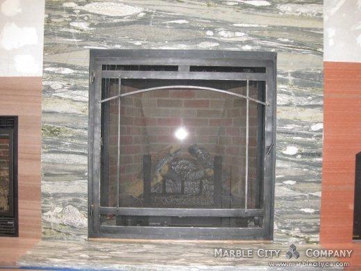 Granite For Fireplace Surround View PhotosFireplace Surround