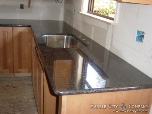 Brown Granite Countertops Brown Granite For Kitchen And