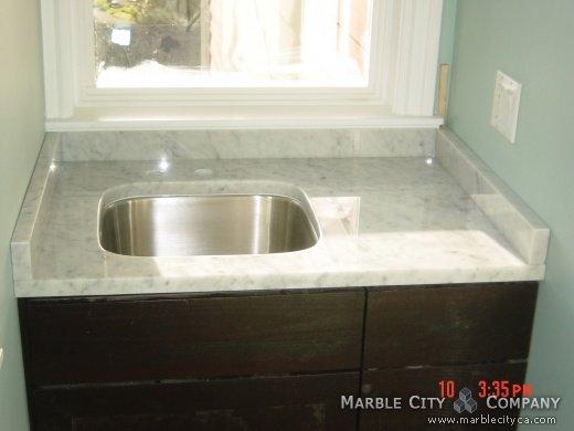 Bianco Carrara Polish marble