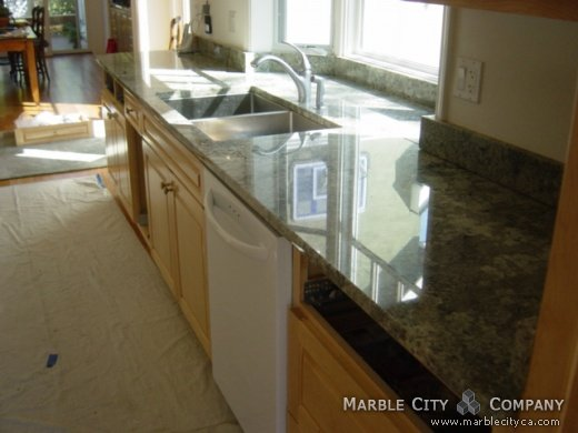 Namib Green - Granite Countertops - Bay Area