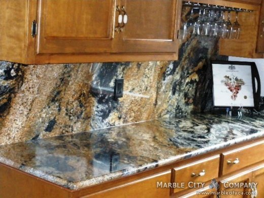 Comet - Granite Countertops - Bay Area California