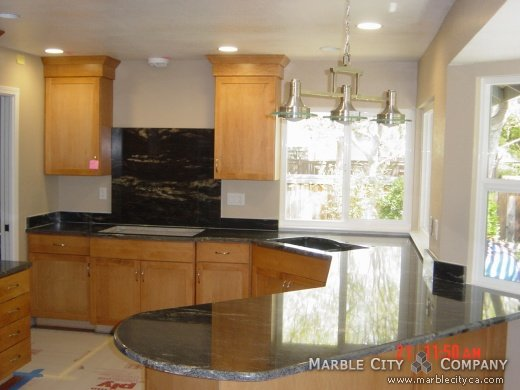 Black Cosmic - Granite Countertops in Fremont, California