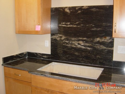 Black Granite Countertops Price : Black Cosmic Granite Kitchen - Granite Countertops California Color ...