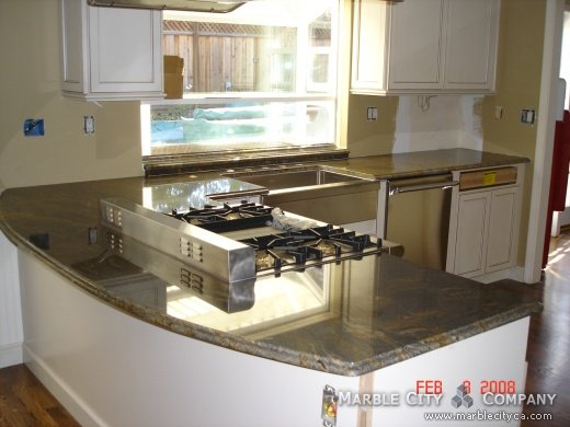 Fantastic Brown - Granite Countertops - San Francisco California