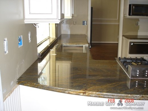 Fantastic Brown - Granite - Bay Area