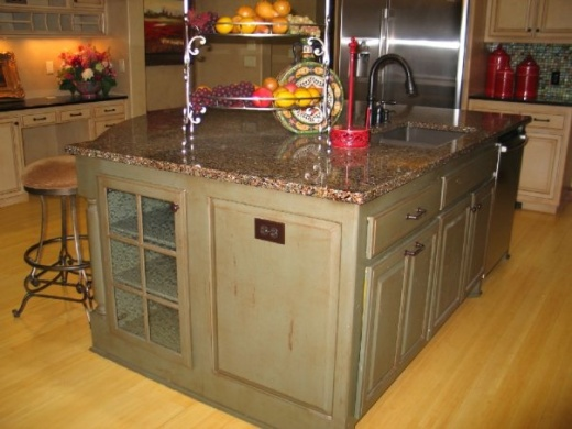Alehouse Amber with Patina - Vetrazzo Countertops in Bay Area, California