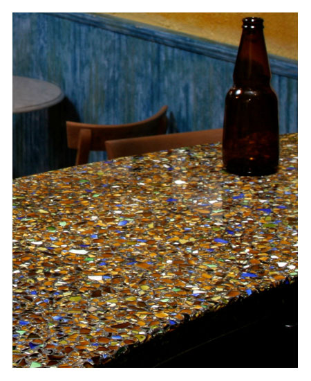 Charisma Blue With Patina   Vetrazzo Countertops   San Francisco