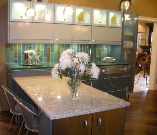 Kitchen Countertops Installation Cost: Vetrazzo Counters At Marble City CA