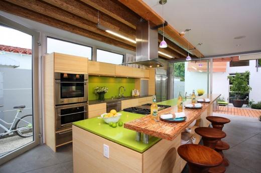 Apple Martini - Quartz Countertops San Francisco, California