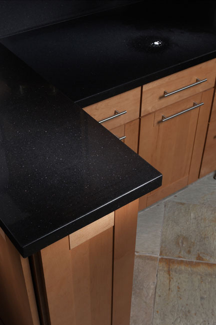 Absolute Noir Quartz Counters At Marblecitycompany