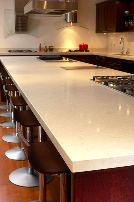 Misty Carrera Quartz Counters At Marblecityca Bay Area