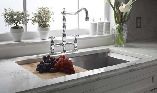 Quartz That Looks Like Carrara Marble : Chet pourciau design carrara marble vs quartz