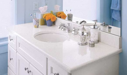 White Quartz Vanity Countertops Bay Area At Marble City