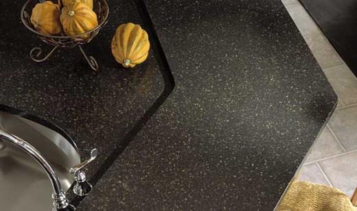 Space Black Quartz Kitchen Countertops Bay Area At