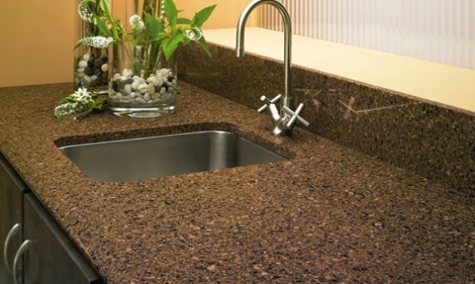 brazilian brown - silestone countertops san francisco california