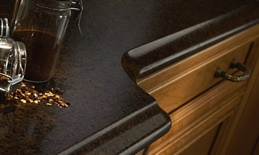 Coffee Brown   Quartz Countertops   San Jose California