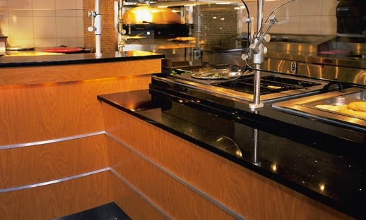 Stellar Night Kitchen Countertops Bay Area