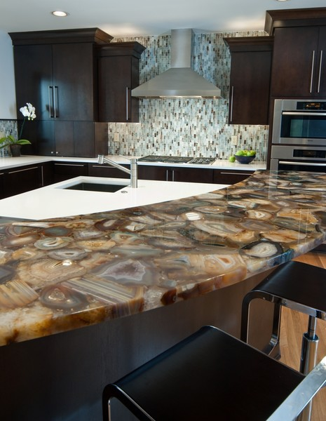 Luxury Semi Precious Countertops Bay Area California