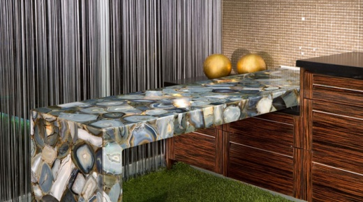 Superbe Nebbia   Blue Luxury Countertops   San Francisco