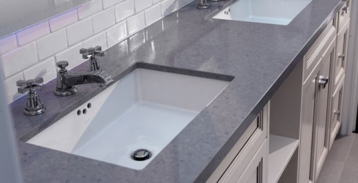 Pebble Caesarstone Countertops At Marble City Company
