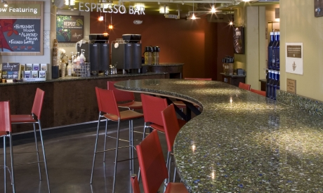 Bistro Green with Patina - Vetrazzo Countertops Bay Area California
