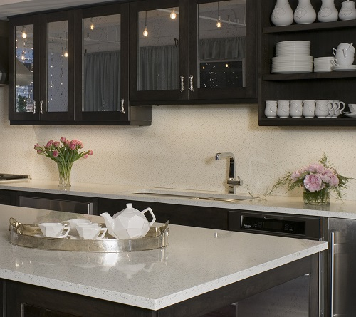 Kitchen Countertops Installation Cost: Recycled Glass Countertops San Francisco CA