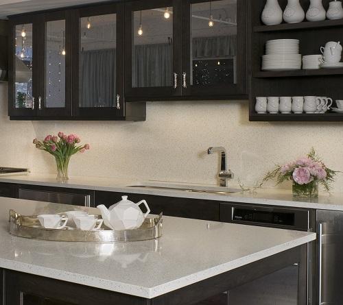 Kitchen Countertops San Francisco: Recycled Glass Countertops San Francisco CA